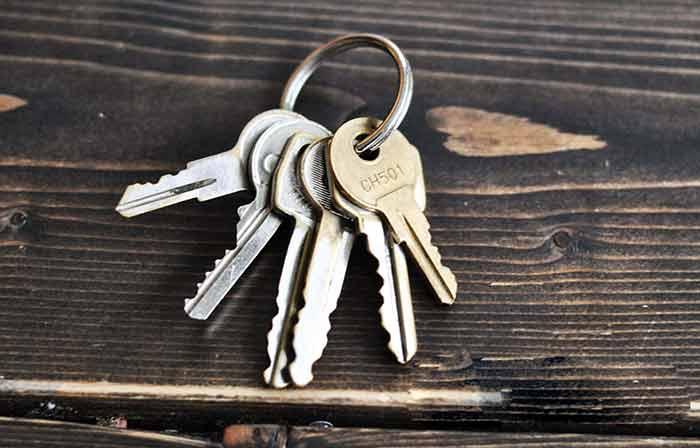 کلید یدکی