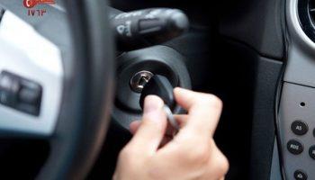 گیر کردن سوئیچ ماشین در قفل